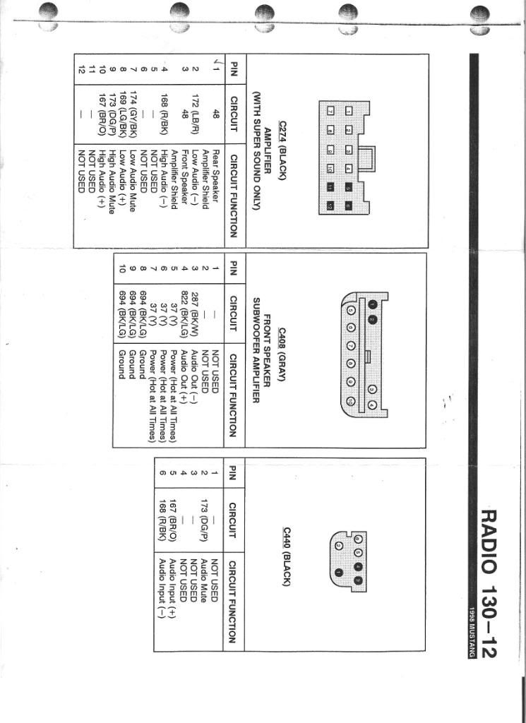 02 Gt Mustang Rear Deck Speaker Mach Wiring Diagram