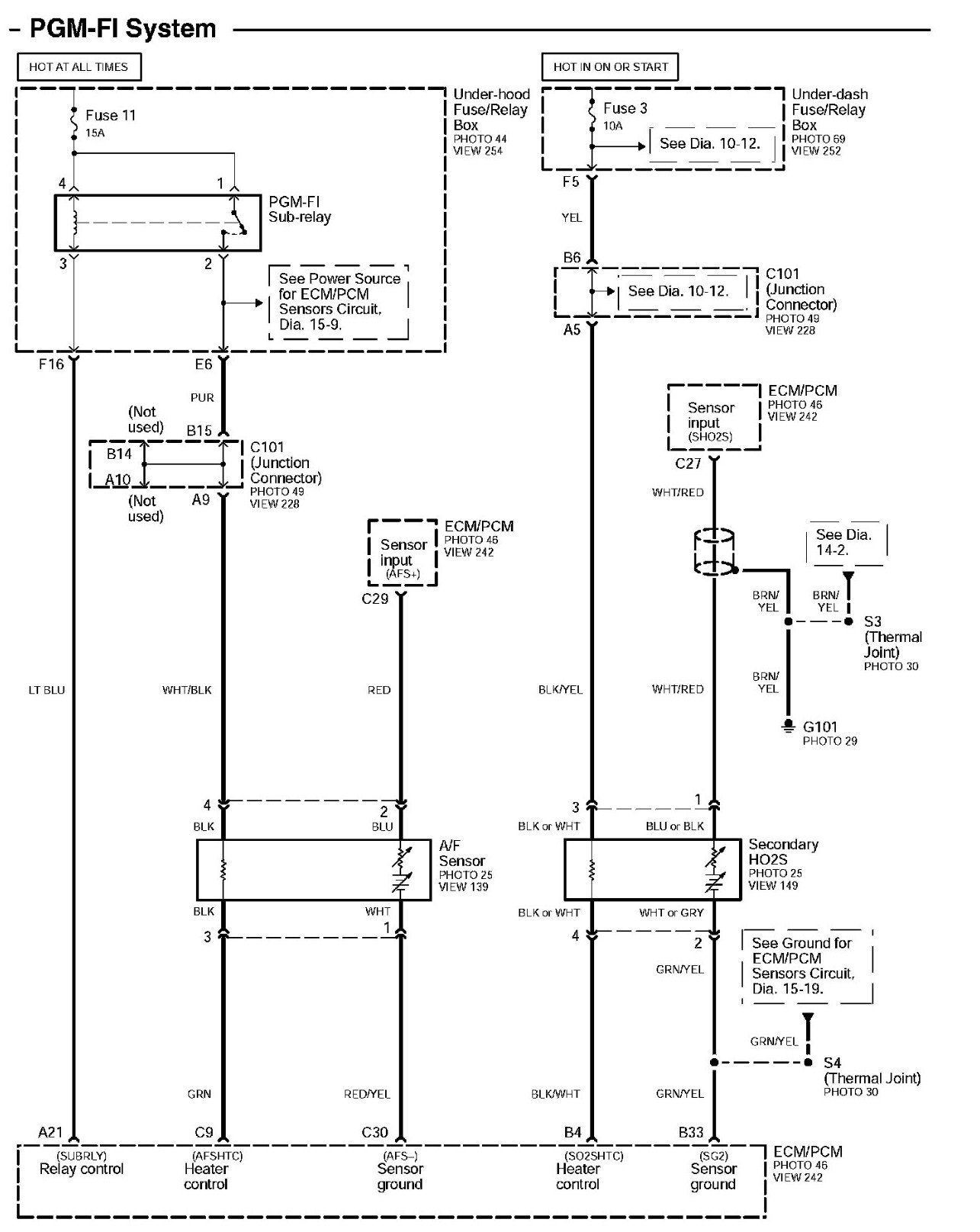 06 Honda Odyssey Vss To Pcm Wiring Diagram