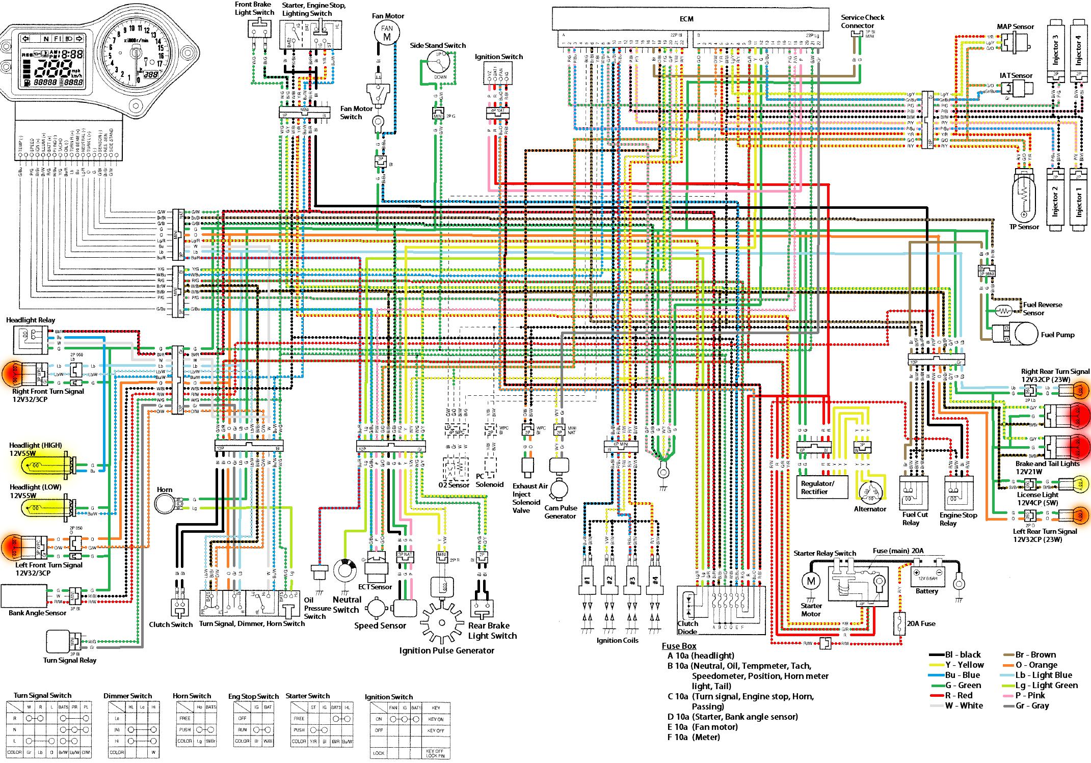 07 Cbr1000rr Wiring Diagram