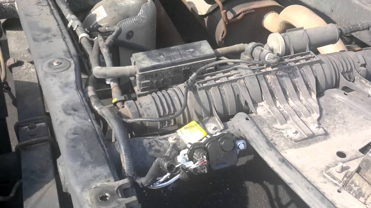 09 Ford F150 5 4l Triton 3v Need Engine Bay Wiring Diagram Of Injectors