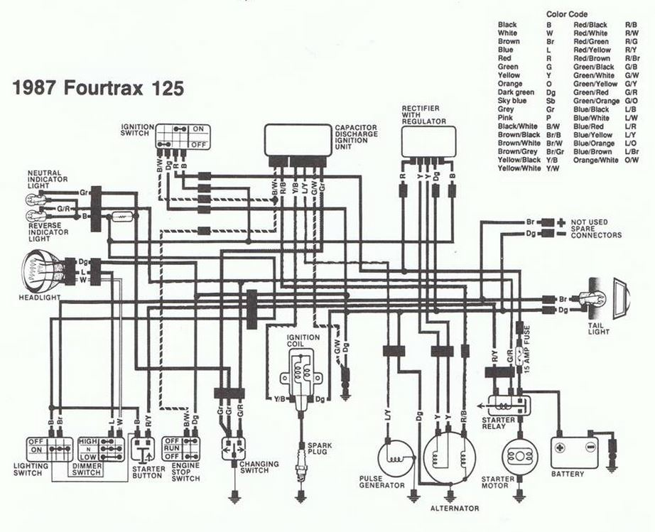 110Cc Atv Starter Solenoid Wiring Diagram from diagramweb.net