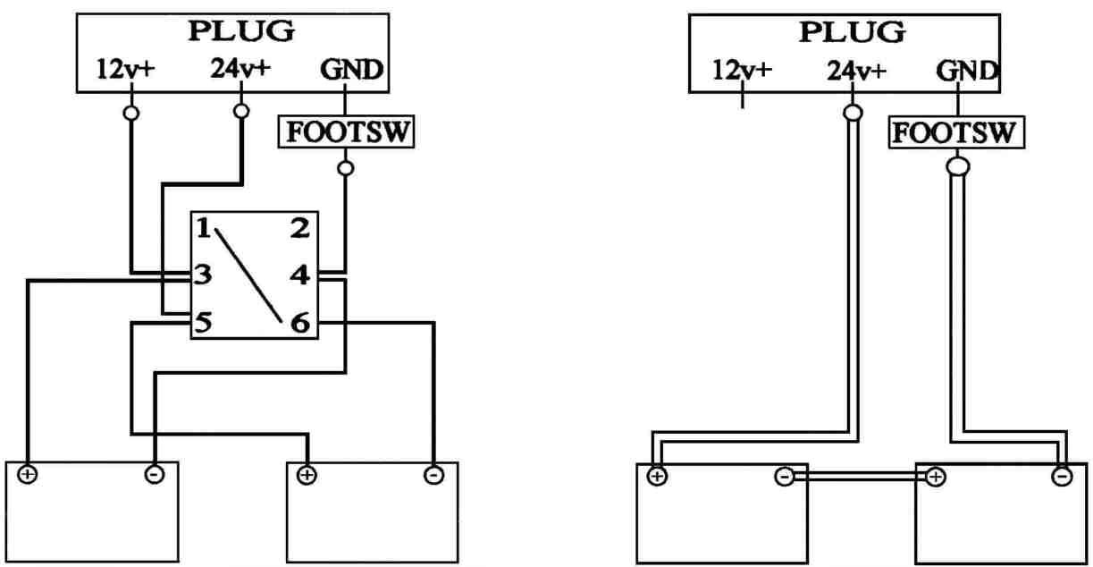 12/24 Volt Trolling Motor Battery Wiring Diagram