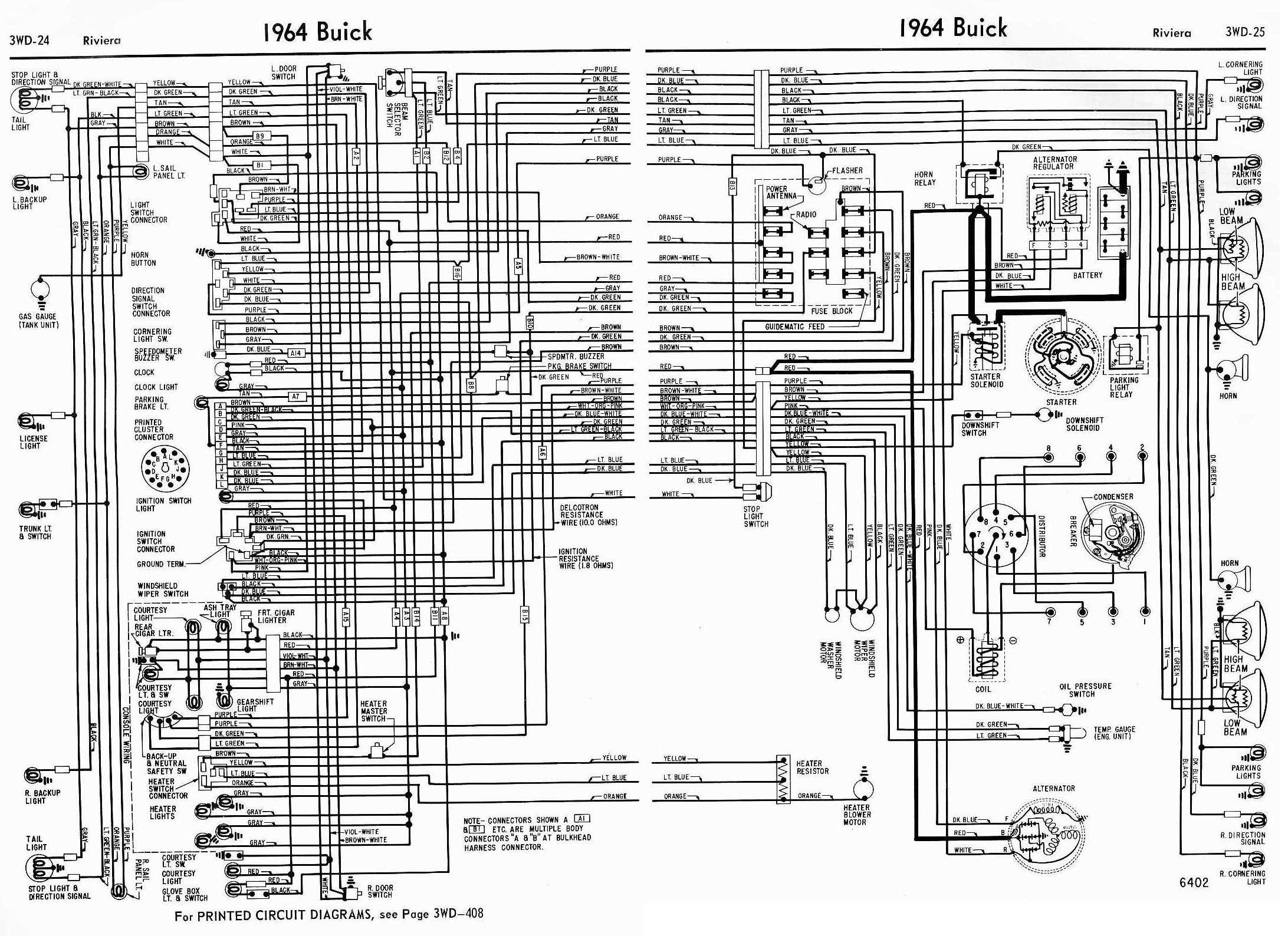 1964 Buick Riviera Ignition Wiring Diagram
