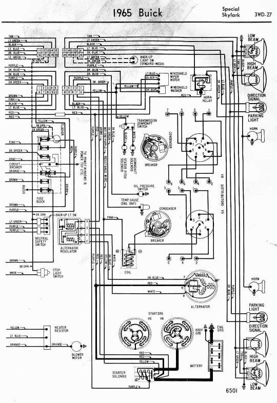 1965 Lemans Blinker Wiring Diagram
