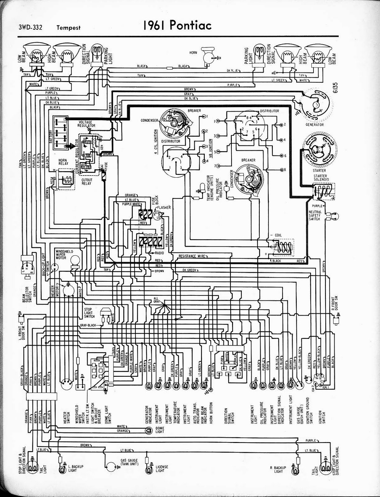 1971 Pontiac Lemans Heater  Ac Switch Wiring Diagram