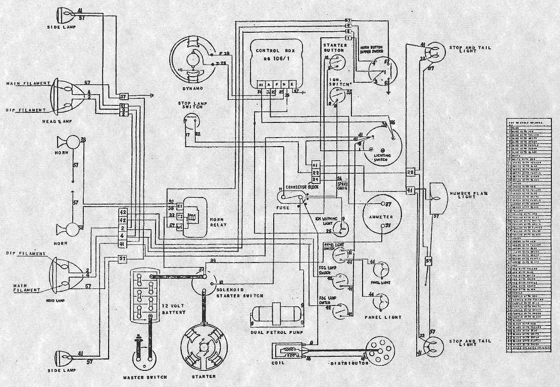 1979 Db V8 Aston Martin    Wiring Diagram