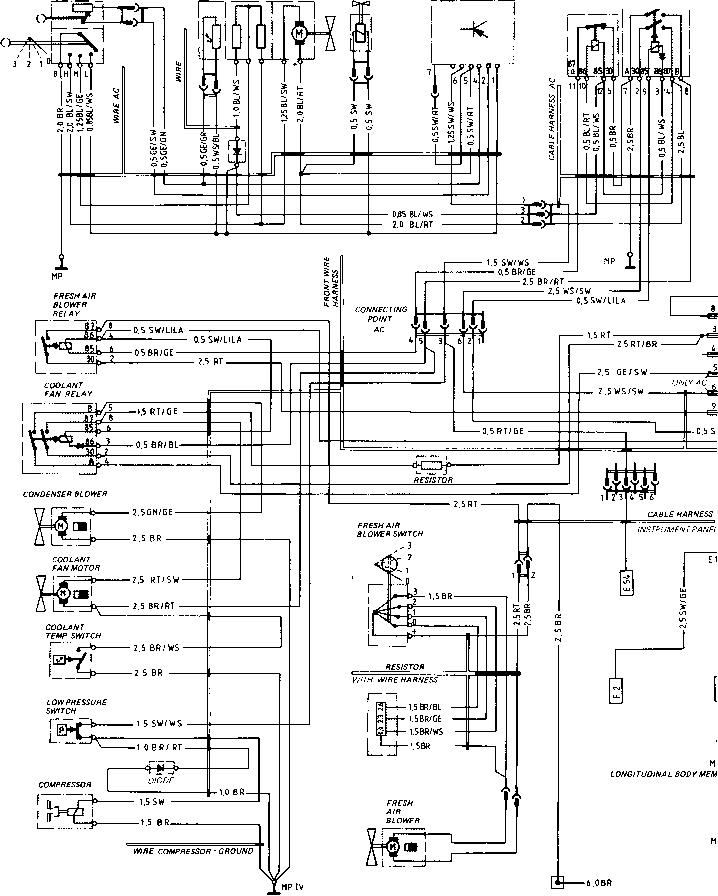 1979 Porsche 924 Fuel Injection Wiring Diagram