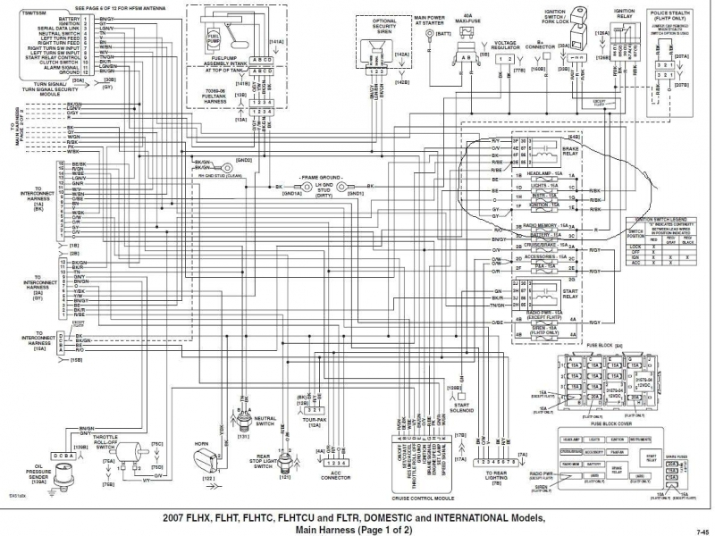 1980 Harley Davidson Flh Wiring Diagram on