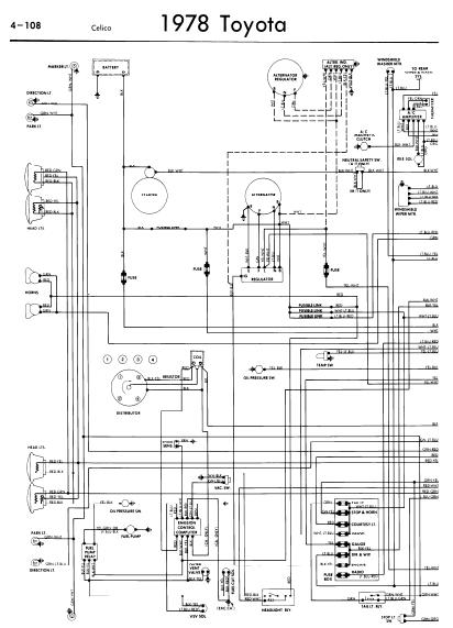 1981 Toyota Celica Overdrive Wiring Diagram