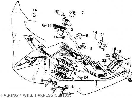 Honda Gl 1500 Brake Light Wiring