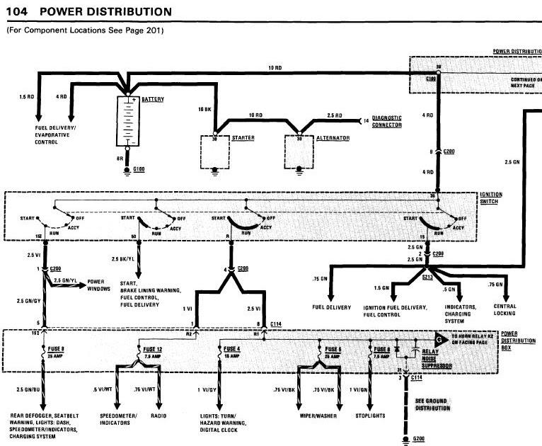 1984 Bmw 325e Wiring Diagram