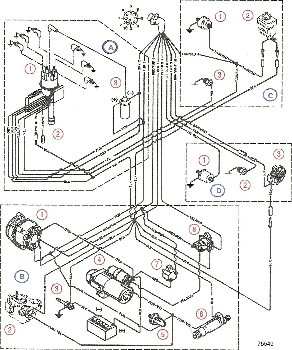 1988 Sea Ray 4 3 Ignition Wiring Diagram