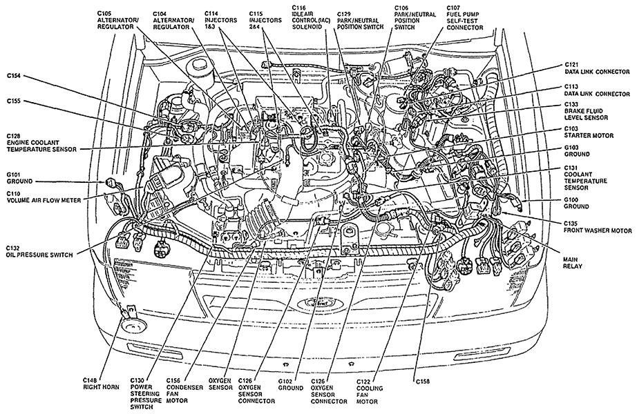 1988 Ford Fiesta Electrical Wiring Diagrams Original