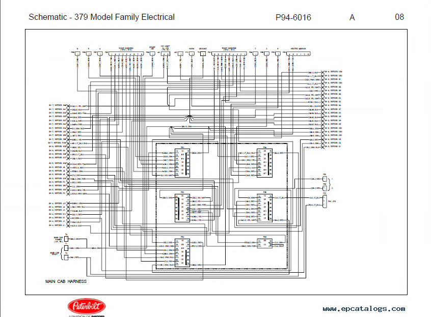 1989 Peterbilt 379 Wiring Diagram