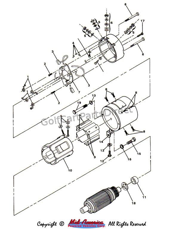 Ez Go Textron Wiring Diagram from diagramweb.net