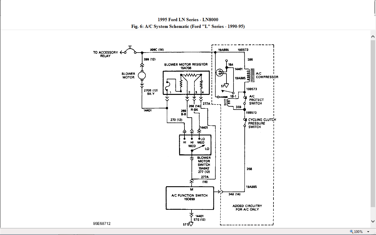1991 F700 Hydroboost Relay Wiring Diagram