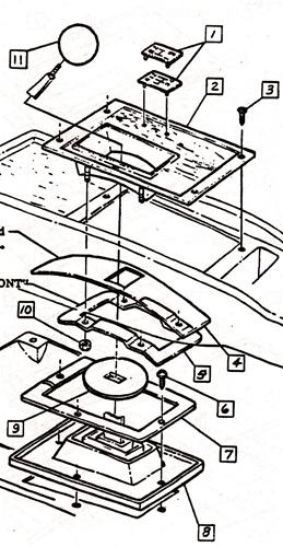 1993-1996 Corvette Console Wiring Diagram Pdf