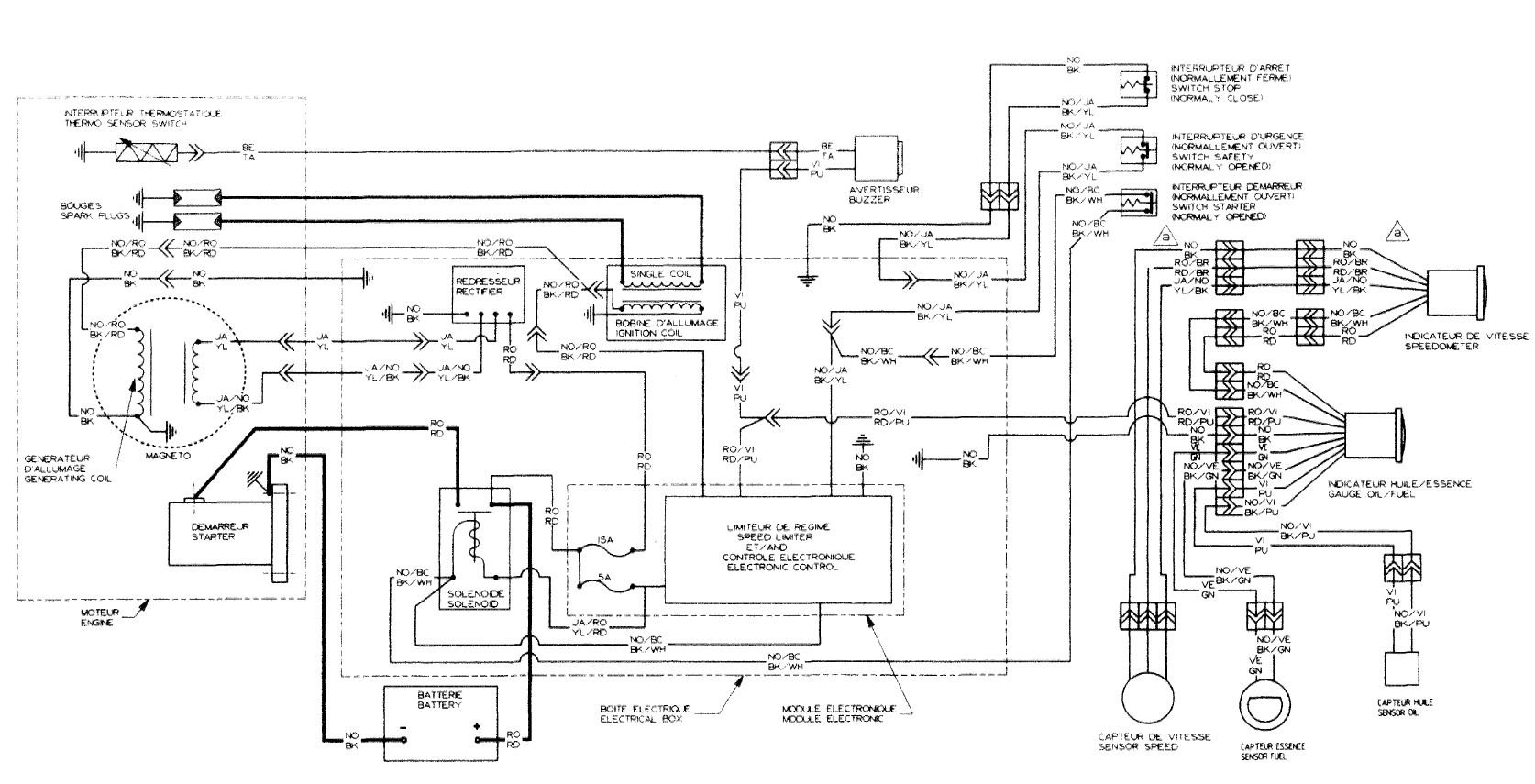 1996 Seadoo Xp Vts Wiring Diagram