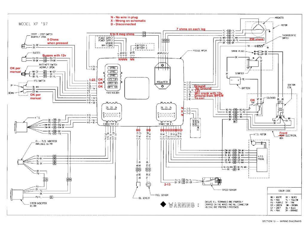 xp wiring diagram seadoo - Wiring Diagram