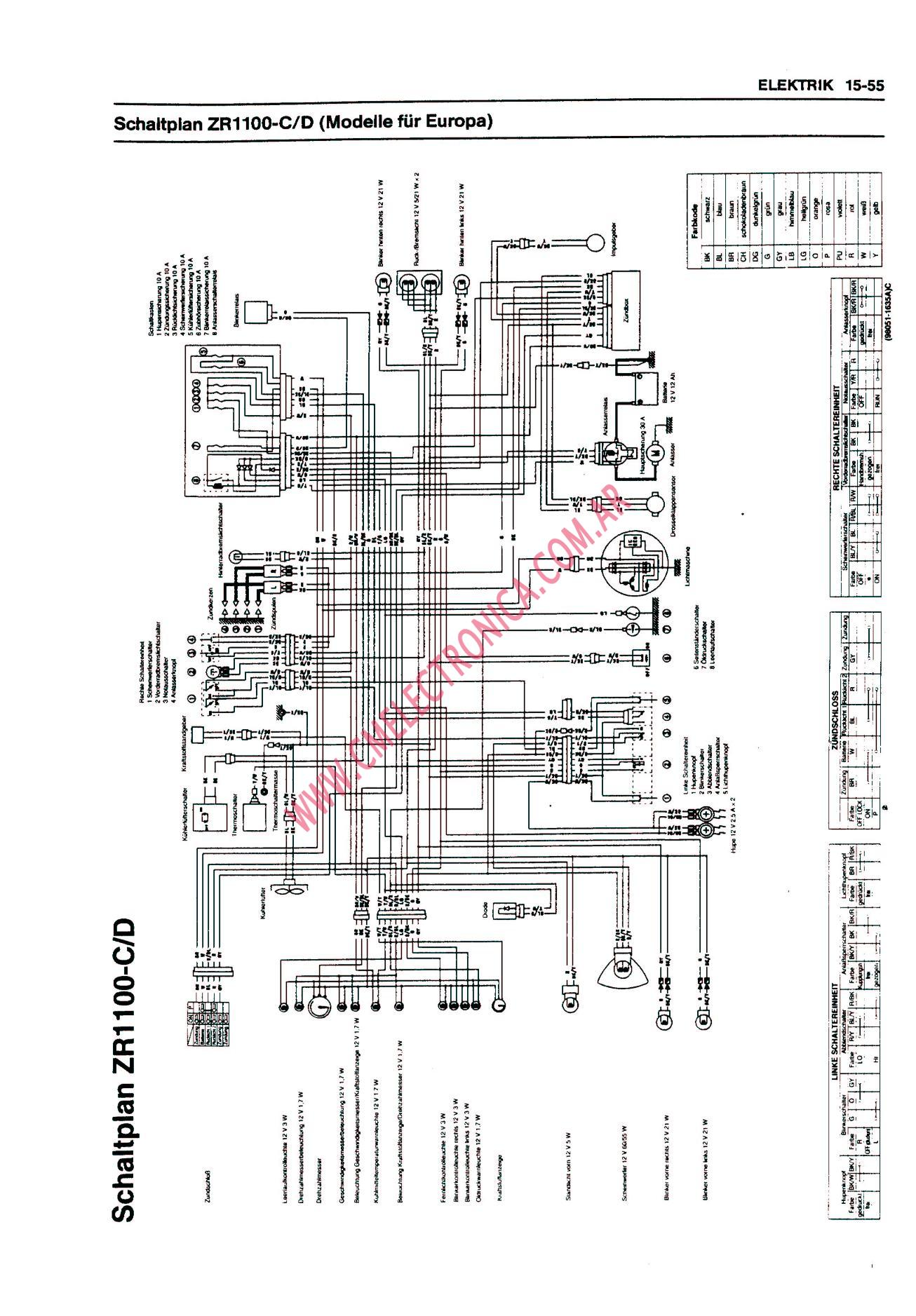 1996 Shadow Vt1100c2 Wiring Diagram