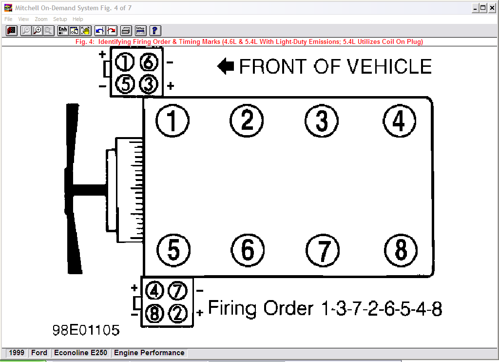 1997 Crown Victoria 4 6 Spark Plug Wiring Diagram 180 Out