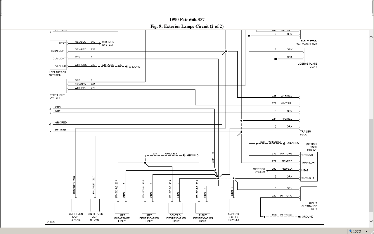 1997 Peterbilt 357 Wiring Diagram