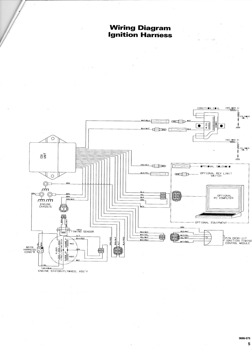 1998 Arctic Cat 98a4a Wiring Diagram