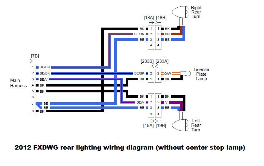 1998 Harley Fxdwg Wiring Diagram