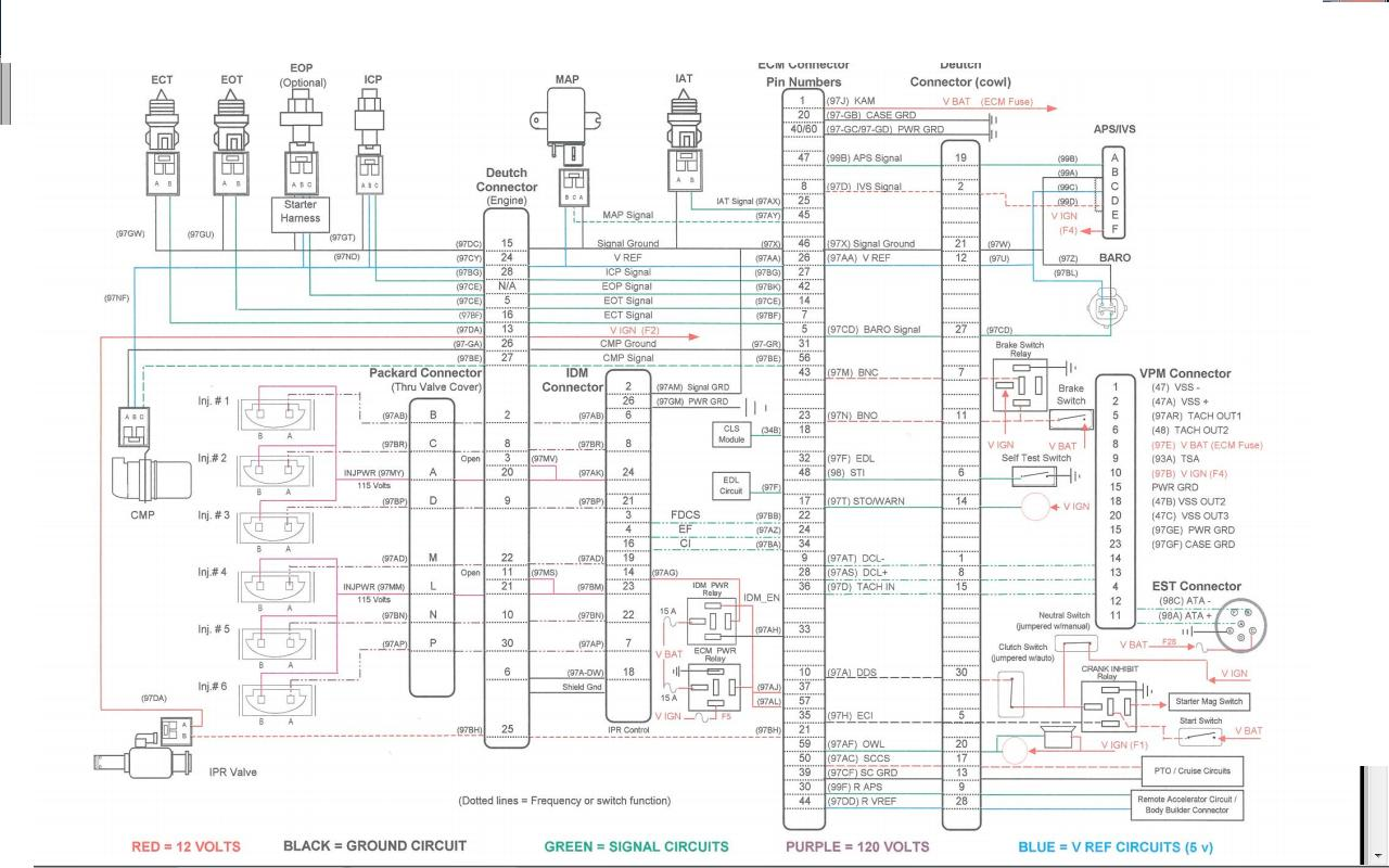 1999 International Dt466e Engine Wiring Diagram