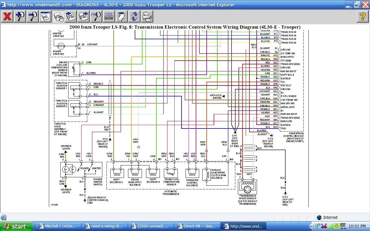 1999 Npr Isuzu Wiring Diagram Of Computer 5 7
