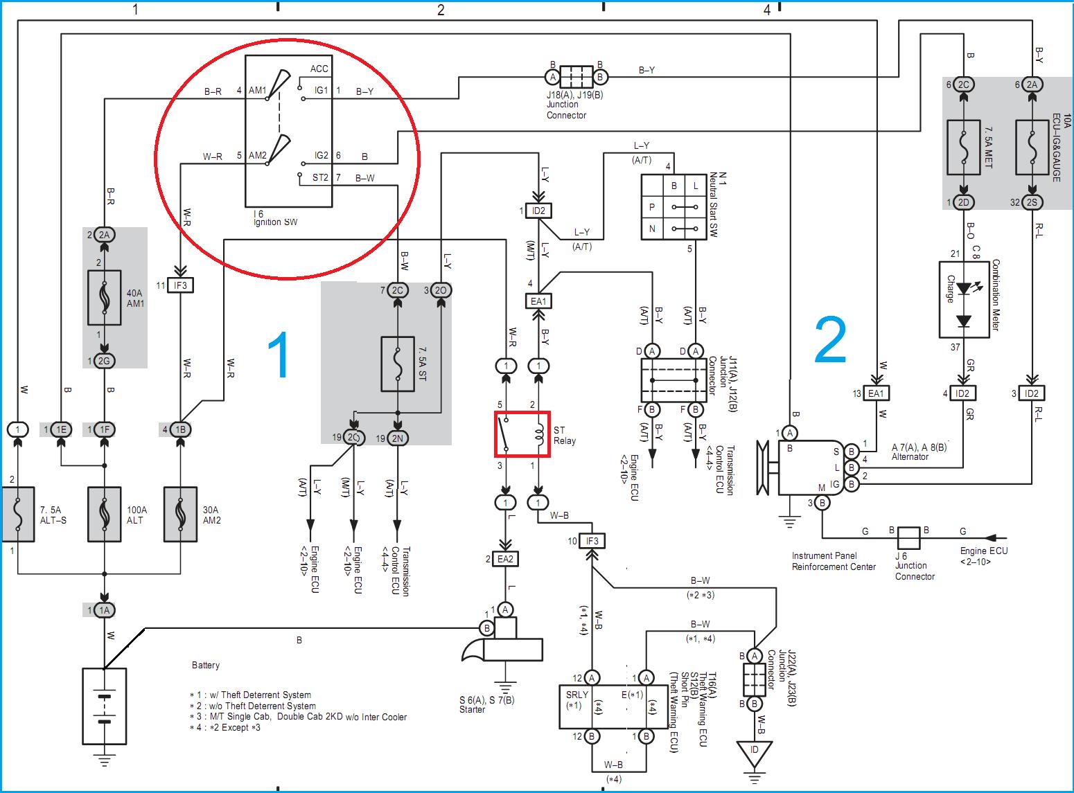 1kd Wiring Diagram