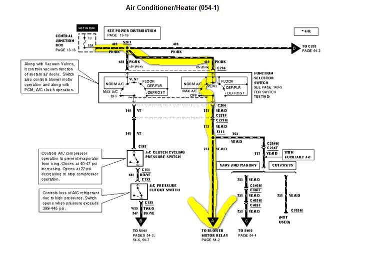 2000 Ford E450 Air Compressor Wiring Diagram Ac Clutch Wiring Diagram F on