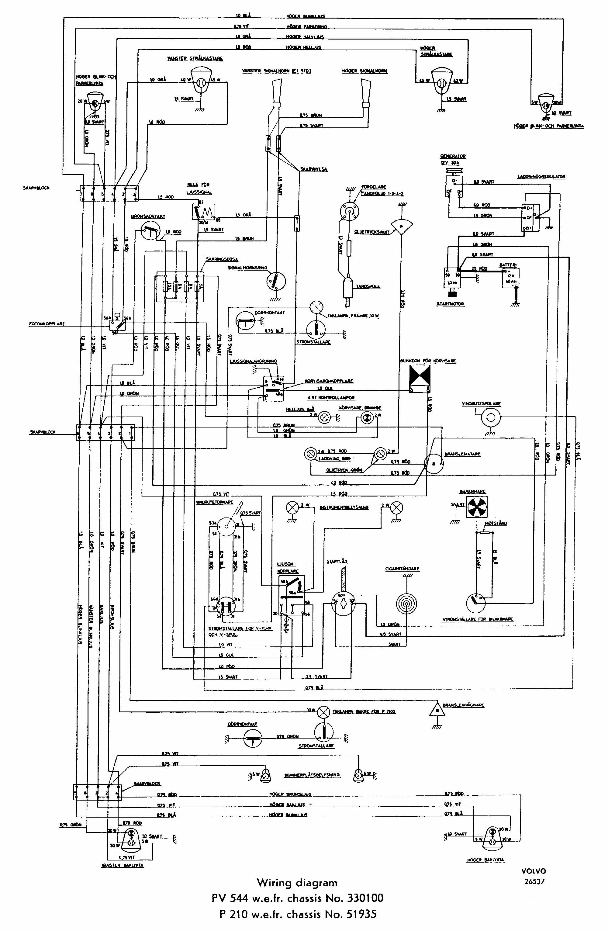 2002 Volvo S40 Wiring Diagram