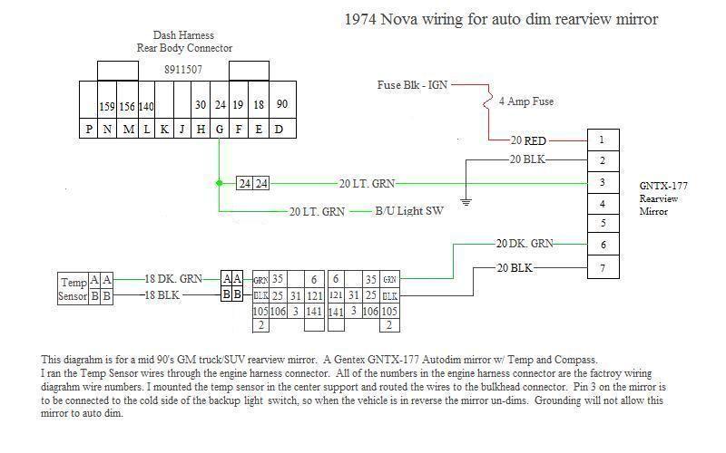 2002 Chevy Silverado Gentex 177 Mirror Wiring Diagram