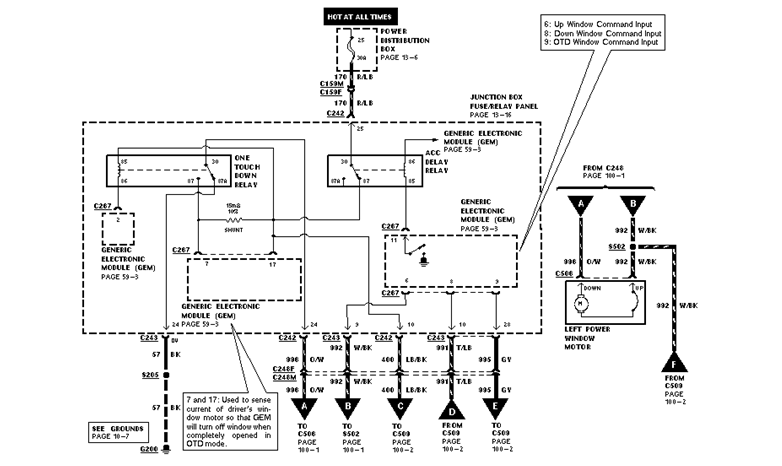 Diagram Power Window Wiring Diagram Ford Truck Full Version Hd Quality Ford Truck Alldiagram Cscervino It