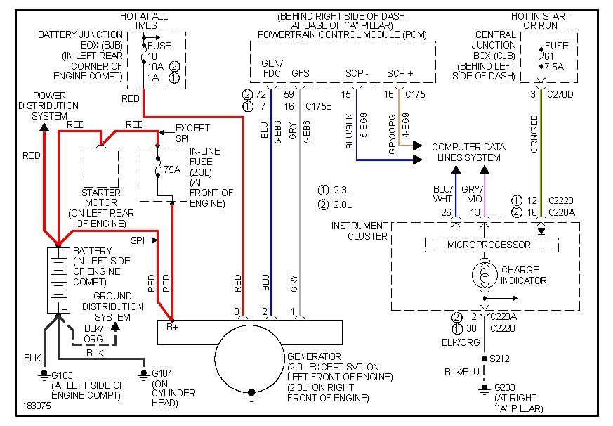 Fine 2003 Ford Focus Ztw 2 3L Wiring Diagram Wiring Digital Resources Inamapmognl