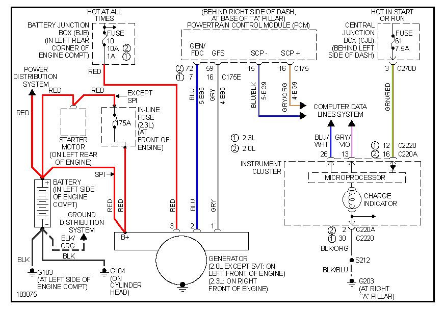 2003 Ford Focus Ztw 2 3l Wiring Diagram