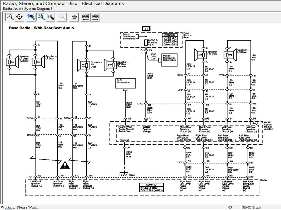 Gmc Envoy Radio Wiring Diagram from diagramweb.net