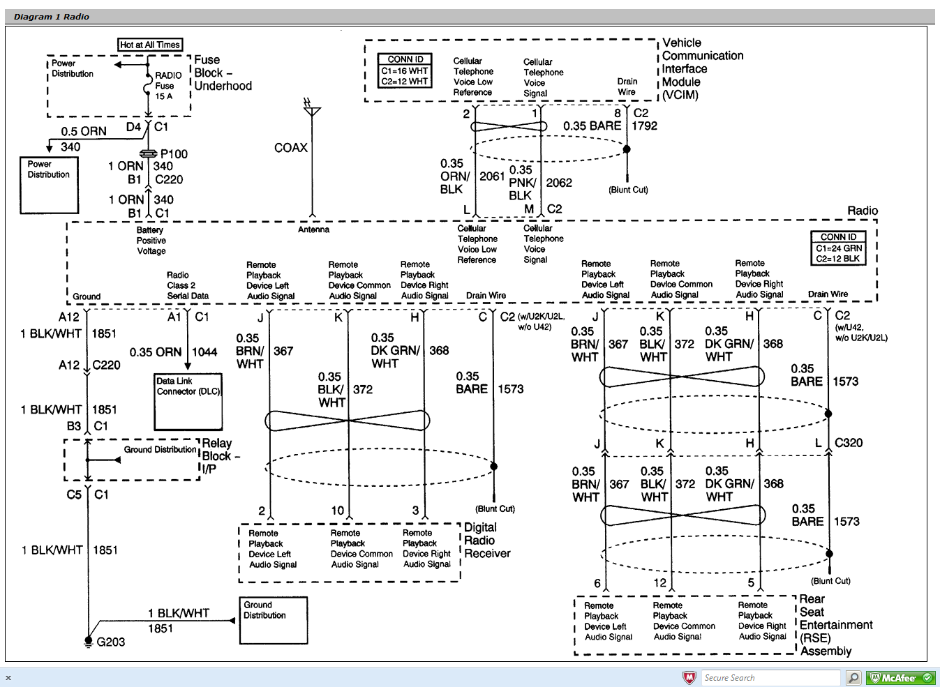 04 Silverado Radio Wiring Diagram from diagramweb.net