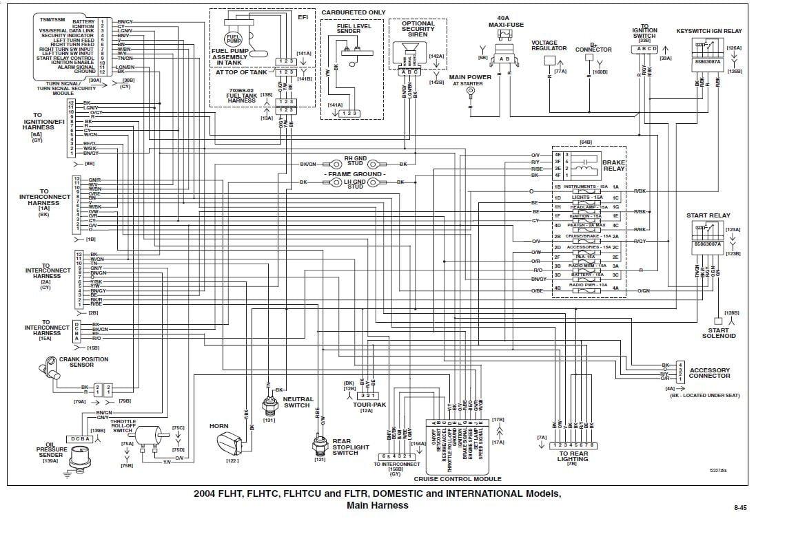 2004 Road King Flhrs Wiring Diagram