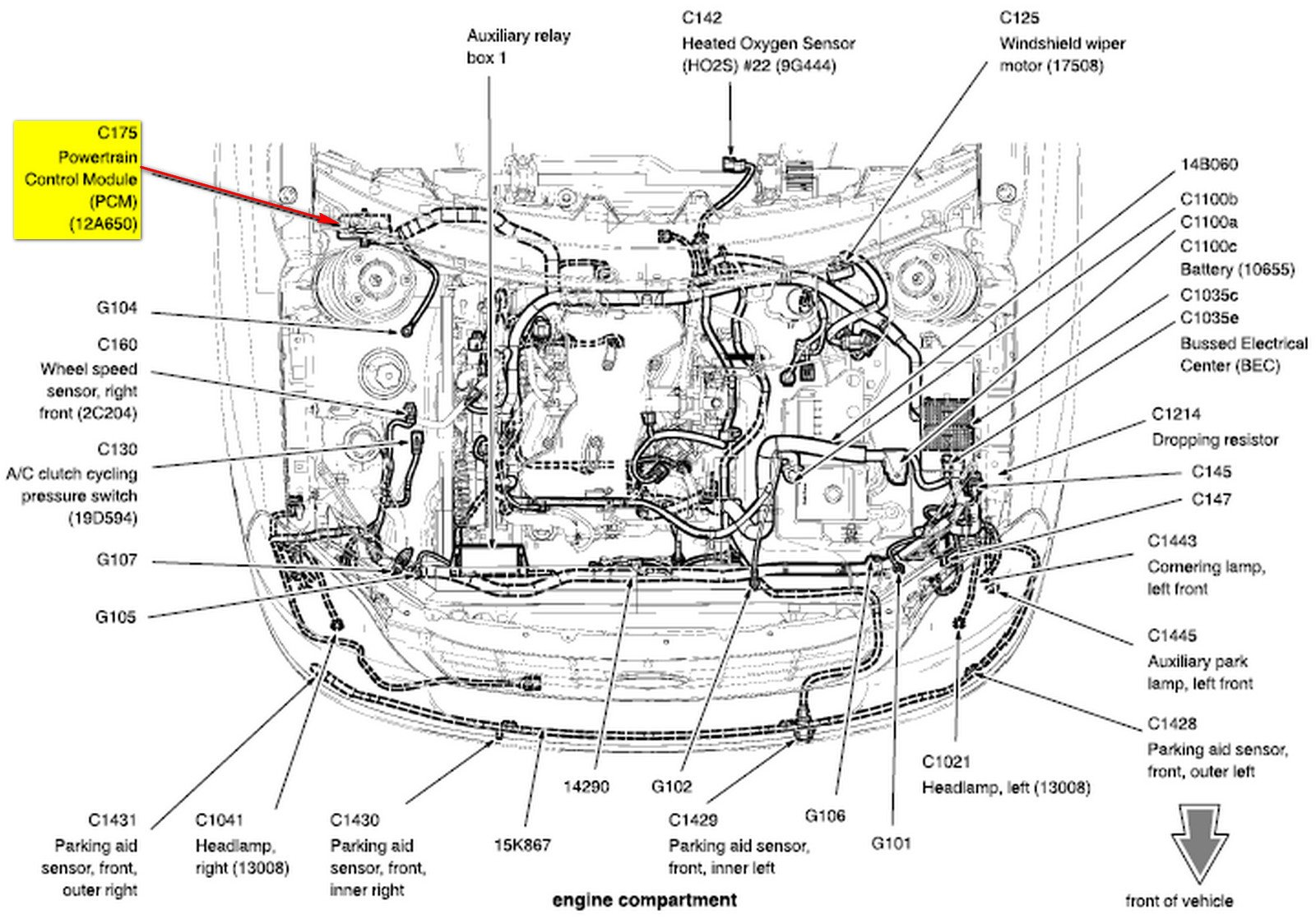 2005 Ford Freestar 3 9 L Engine Wiring Diagram