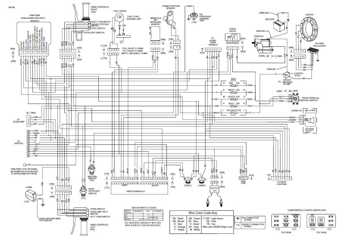 2000 Harley Davidson Wiring Diagram Wiring Diagram Motor Motor Frankmotors Es