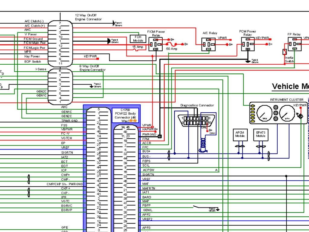 2007 F350 6 0 Ficm Plug C