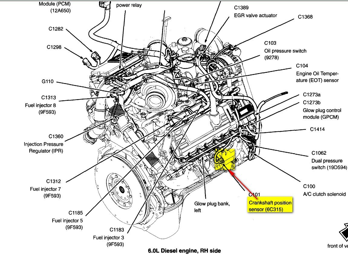 2008 F250 5.4 Throttle Position Sensor Wiring Diagram