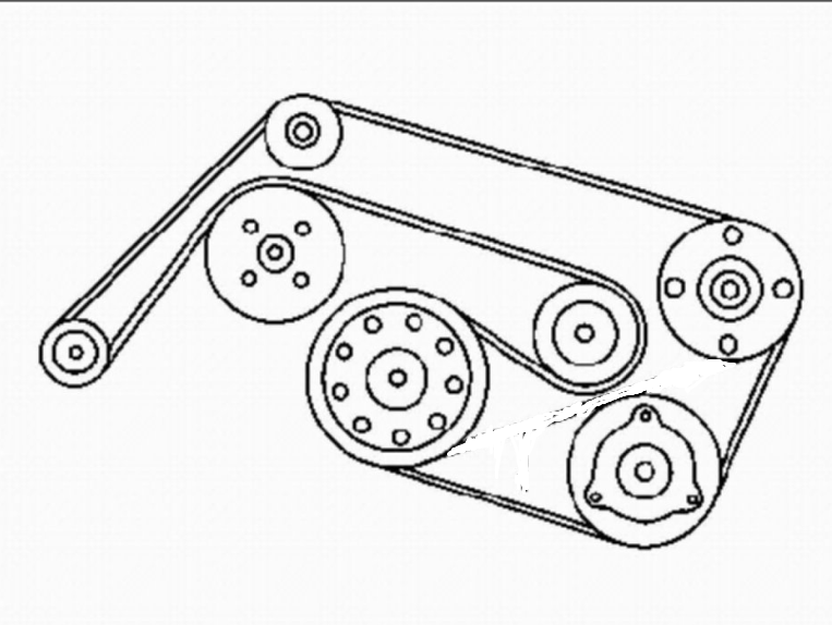 2008 Mercedes C300 Serpentine Belt Diagram
