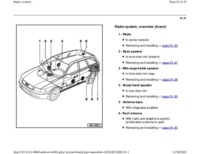 2008 Phaeton Tv Antenna Wiring Diagram