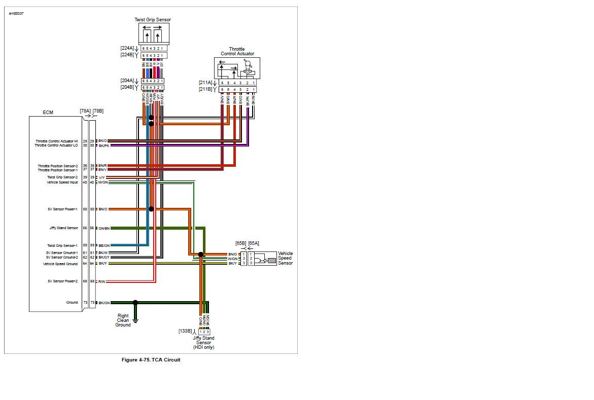 2009 Harley Davidson Triglide Ultra Classic Wiring Diagram