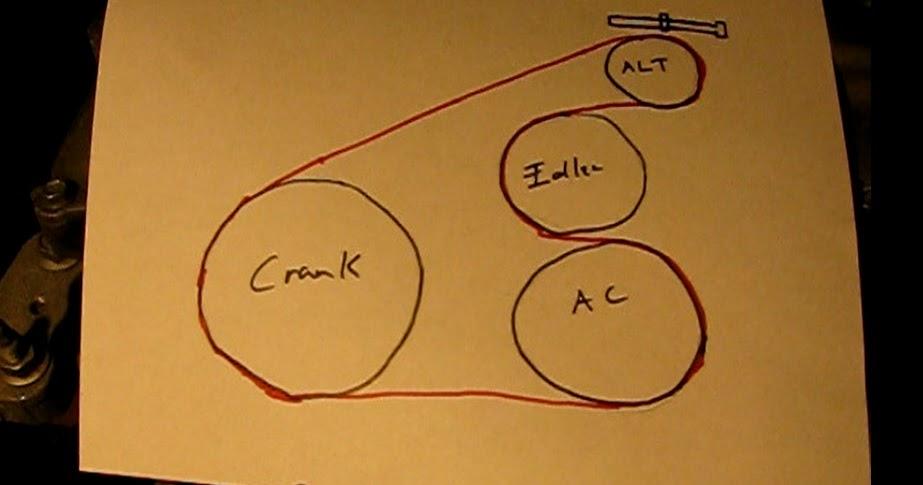 2009 Pontiac Vibe Serpentine Belt Diagram