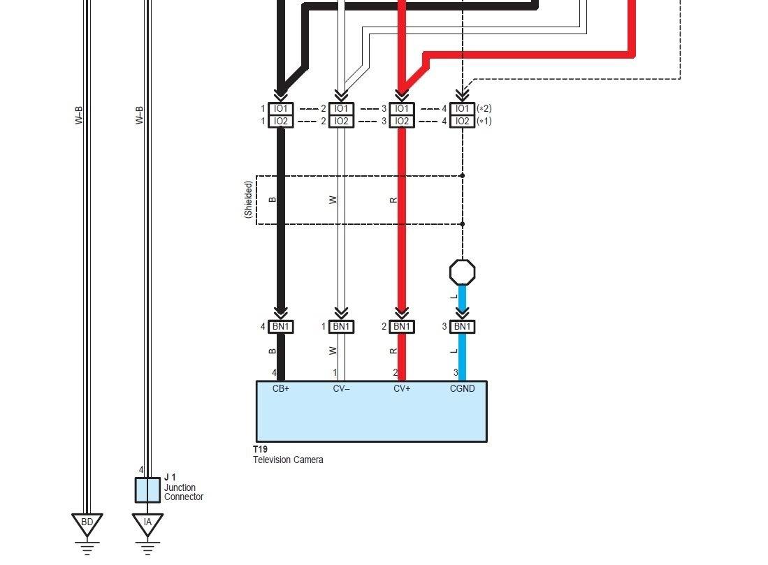2009 Toyota Tacoma Backup Camera Wiring Diagram
