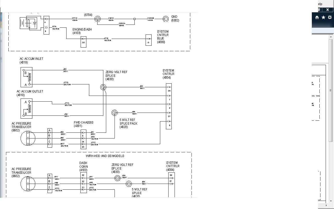 2010 International Prostar Ac Wiring Diagram